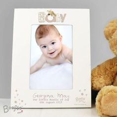 Personalised-Gifts-BOOFLE-New-Baby-Babys-1st-Christening-Boy-Girl-Gift