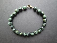 Father's Day Sale Kambaba jasper bracelet by ClassyGlassandJewels