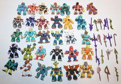Takara Battle Beasts Lot Hasbro Huge Lot! 80's Toys 31 Figures 18 weapons #Takara