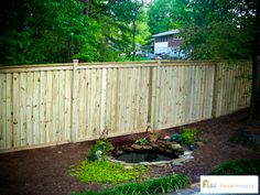 This fence is less expensive than some of the others I pinned.  And I thihnk it'sthe same on both side...  you can get fences that are the same on both sides....
