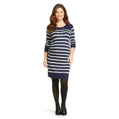 Maternity Striped Sweater Dress - Liz Lange® for Target