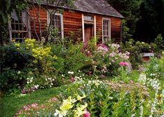 tasha tudor's gardens | Tasha Tudor's garden Love this type of garden