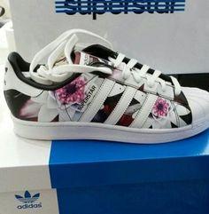 Adidas Superstar Flower