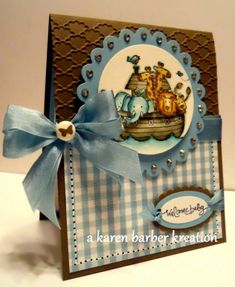 BLESSINGS, TWO BY TWO!!! by Karen B Barber - Cards and Paper Crafts at Splitcoaststampers