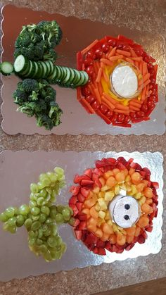 Fruit and Veggie flower power. If you have a Mario themed party you can use these :) Super Mario Party, Super Mario Birthday, Mario Birthday Party, 6th Birthday Parties, Super Mario Bros, 8th Birthday, Birthday Ideas, Mario Party Games, Super Mario Cake