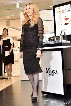 Madonna promotes MDNA Skin in Tokyo 02