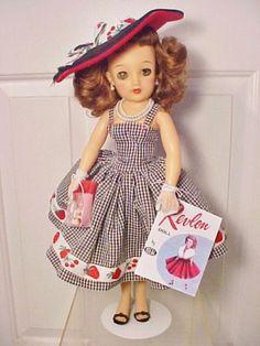 "Vintage 1950s 18"" MISS REVLON DOLL - VT-18 Complete Costume w/Access. | eBay"