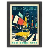 Found it at Wayfair - MOD 'New York, Times Square' by Joel Anderson Vintage Advertisement