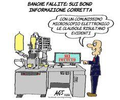 Banche fallite e informazione ai correntisti