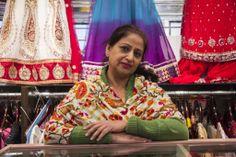 © Copyright, The Origami, Shin Jae Park Indian Textiles, Ontario, Toronto, Origami, Sari, Asian, Dreams, People, Saree