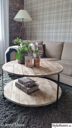 bord,gör det själv,diy,diy bord,do-it-yourself – Diy Furniture Ideas Diy Furniture, Furniture Design, Diy Tisch, Diy Home Decor, Room Decor, Wood Pallets, Pallet Wood, Home And Living, Sweet Home