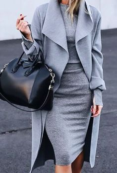 LOVE the outfit - sophisticated! I would love to try longer jacket like this but not sure it would look good on me.