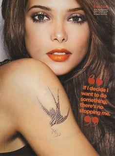 Ashley Greene Tattoo
