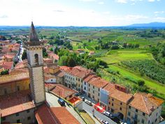 Home town of Leonardo - #Vinci