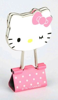 hello kitty large clip