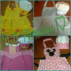 Delantales de Cocina de Princesas :)  (Apron Princess)