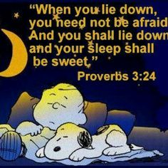 Bedtime Proverb;