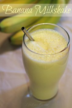 Classic Banana Milkshake Recipe - Life Love Liz