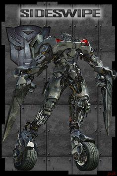 Sideswipe Transformers by ~james23x on deviantART