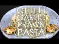 Chilli Garlic Prawn Pasta Recipe - Nutritionist meets Chef