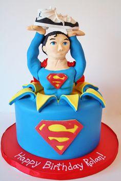 Birthday Cakes NJ - Superman Custom Cakes