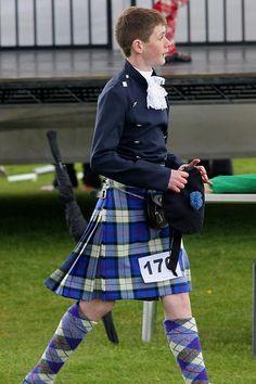 Male dancer in kilt #Sinclair #Royal #Tartan