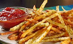 Buddy's recipe for Italian spiced oven fries with homemade ketchup.