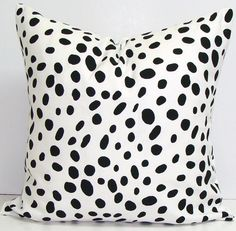 Decorative Pillow.BLACK WHITE Pillow Covers.ALL Sizes.Housewares.Black.Cushion.Cm.Polka Dot.Spots.Dalmation.Spots.Leopard.Cushion Cover.Cm Pillow.BLACK WHITE Pillow Covers.ALL by ElemenOPillows https://www.etsy.com/shop/ElemenOPillows?ref=hdr_shop_menu