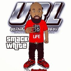 This that dude right here, they try to shit on em on stage but he the one signing the check! #SmackWhite #urltv #url