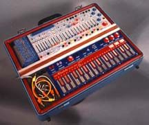 The Buchla Music Easel Synthesizer.