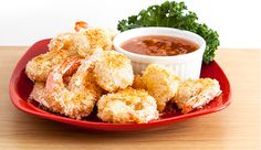 (Lunch) COCONUT SHRIMP WITH SWEET AND SPICY DIPPING SAUCE