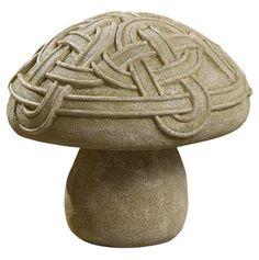Celtic Knot Garden Mushroom