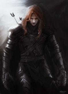 Sauron/Mairon  http://glorfy-the-bright-haired-ellon.tumblr.com/image/159913976826