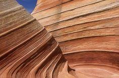 Wave in Vermillion Cliffs, Utah