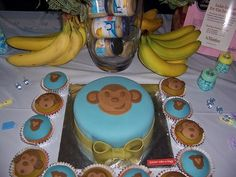 monkey baby shower ideas party