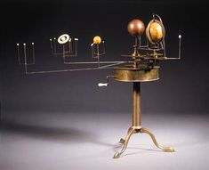 brass, 18th century planetarium - one day I hope to own of a model like this, 19th century of maybe even older....