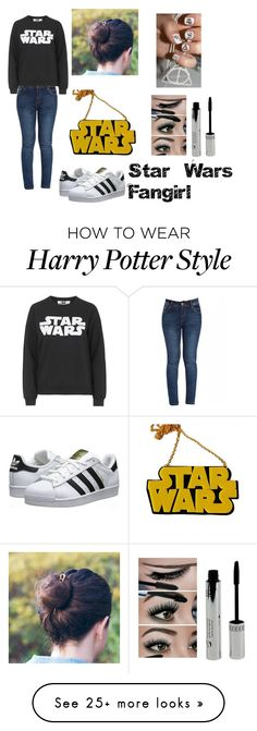 """""""Star Wars Fangirl"""" by fivesoslover4eva on Polyvore featuring Tee and Cake, adidas Originals, Chicnova Fashion, women's clothing, women's fashion, women, female, woman, misses and juniors"""