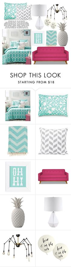 """Get Trending"" by kikiseppr on Polyvore featuring interior, interiors, interior design, home, home decor, interior decorating, Martha Stewart, Unison, Surya and Dot & Bo"