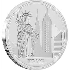 Shop online for collectible gold & silver coins by New Zealand Mint. Our officially licensed Star Wars & Disney Frozen coins make great gifts for collectors, Great Cities - New York 1 oz Silver Coin Coin Art, Gold And Silver Coins, Disney Star Wars, Coin Collecting, Titanic, Colored Pencils, Pencil Drawings, Unique Gifts, New York