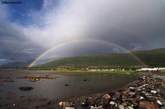 Arcobaleno a Nesna #norvegia http://www.lifeintravel.it/tag/scandibike.html