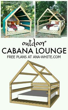 Build an Outdoor Cabana Lounge Make a backyard retreat space fit for kids or adults. A DIY tutorial to build an outdoor cabana lounge space a relaxing hideout for anyone. The post Build an Outdoor Cabana Lounge appeared first on Outdoor Ideas. Outdoor Cabana, Outdoor Fun, Outdoor Ideas, Outdoor Pergola, Diy Pergola, Outdoor Lounge, Outdoor Spaces, Backyard Projects, Outdoor Projects
