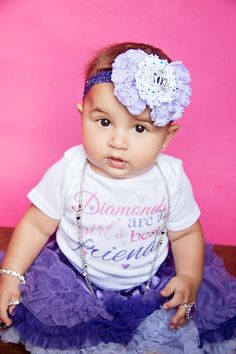 Diamonds are a Girl's Best Friend - Funny Baby ONESIE - Toddler Shirt also available on Etsy, $18.00