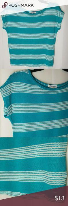 "Aeropostal Knit Top Sleevless light knit  65% Polyester 26%Rayon 3%Spandex  Armpit-Armpit is 17"" Length 20"" Aeropostale Tops"