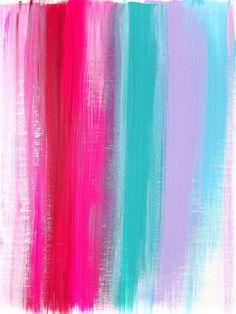 Bright color love.
