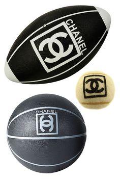 Authentic Chanel Balls Chanel Sports Range