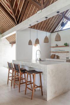 Kitchen Interior, Home Interior Design, Interior Decorating, Casa Clean, Kitchen Styling, Home Kitchens, Beach House Kitchens, Kitchen Remodel, Spanish Kitchen