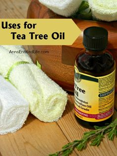Uses for Tea Tree Oil; Tea tree oil has antimicrobial and antiseptic properties. It is best used with sweet almond or coconut oil (or another carrier oil of your choice). My grandmother had tea tree oil in the house at all times, and we used it as diluted astringent. However, there are many other