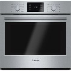 Bosch 500 HBL5451UC Wall mounted Electric Convection Oven - 4.6 cu ft - Stainless Steel