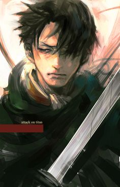 Levi from Attack on Titan (Shingeki no Kyojin)