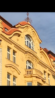 Prague, Mansions, House Styles, Home, Decor, Nice Asses, Decoration, Manor Houses, Villas